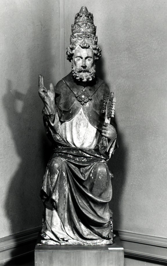 Saint Peter Enthroned