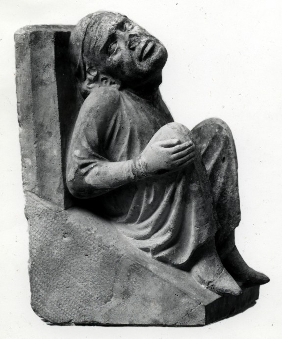 Bracket or Corbel of a Seated Man