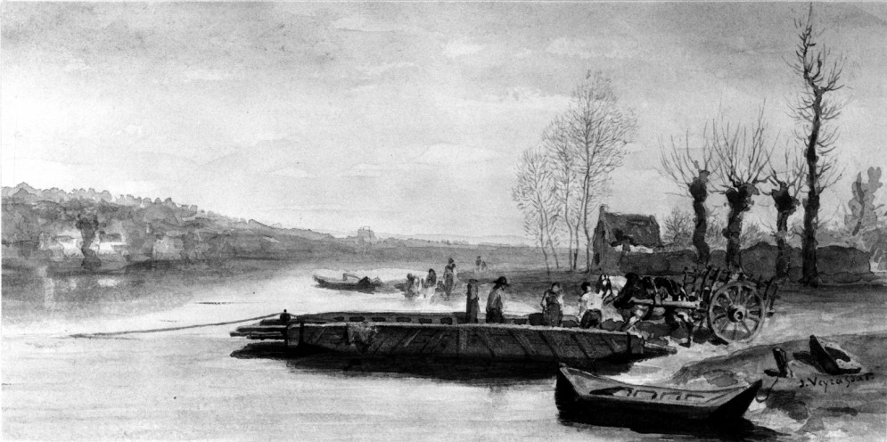 River Landscape: The Ferry