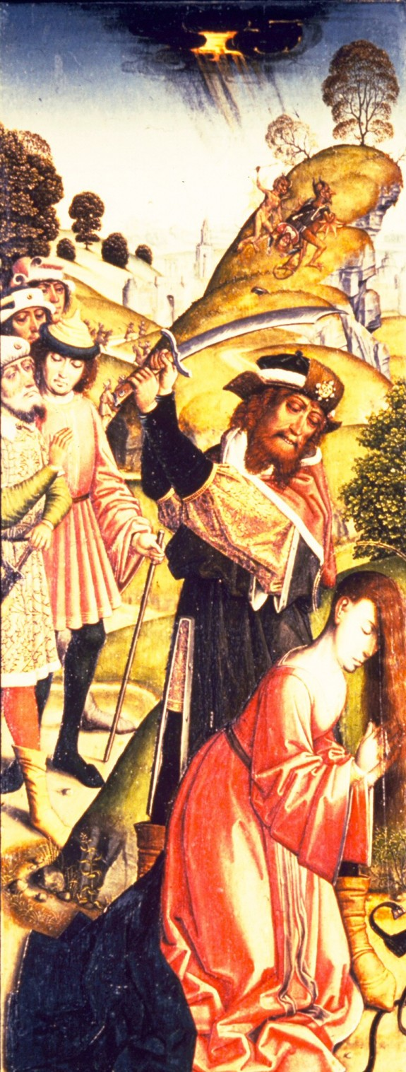 The Martyrdom of St. Barbara