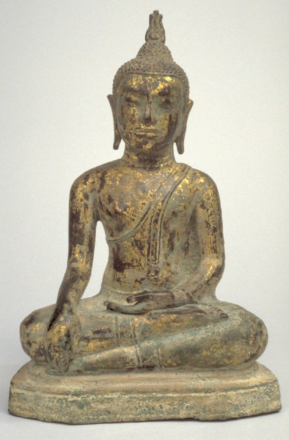 Seated Buddha in