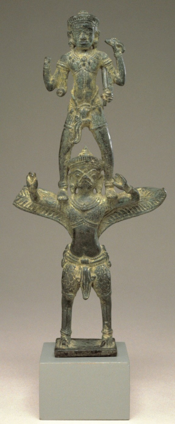 Vishnu on Garuda