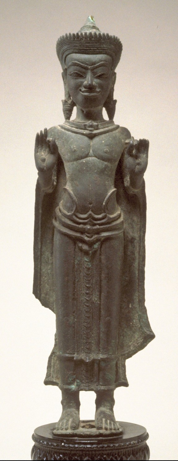 Standing Crowned Buddha