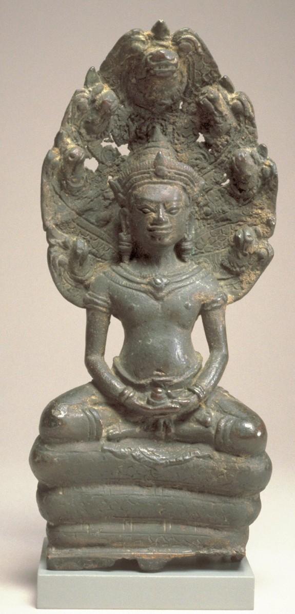 Naga-Protected Buddha