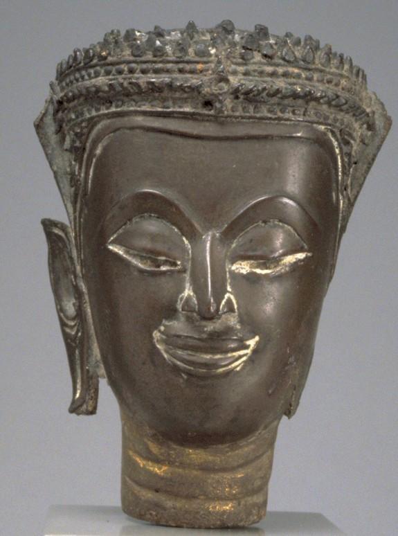Head of Crowned Buddha
