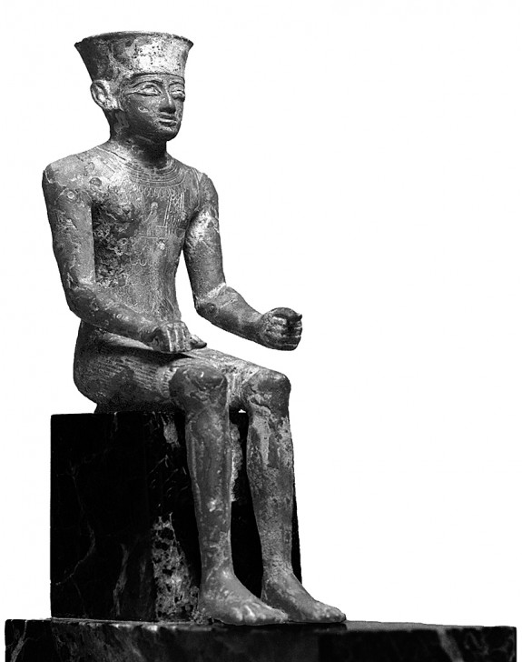 Seated Amun