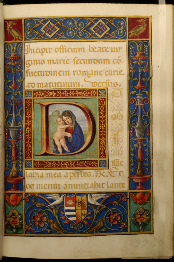 Initial D with Virgin and Child