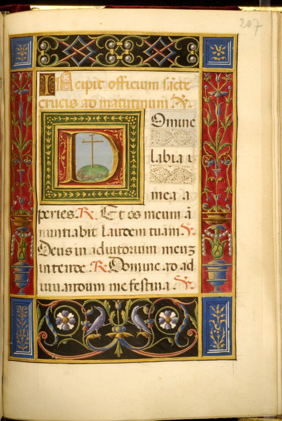 Leaf from Rangoni Bentivoglio Book of Hours