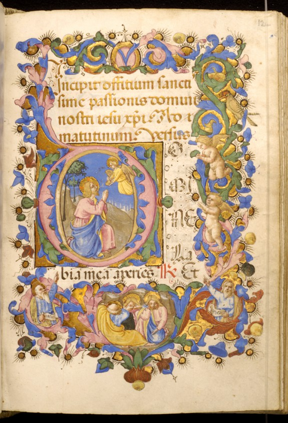 Leaf from Adimari Book of Hours