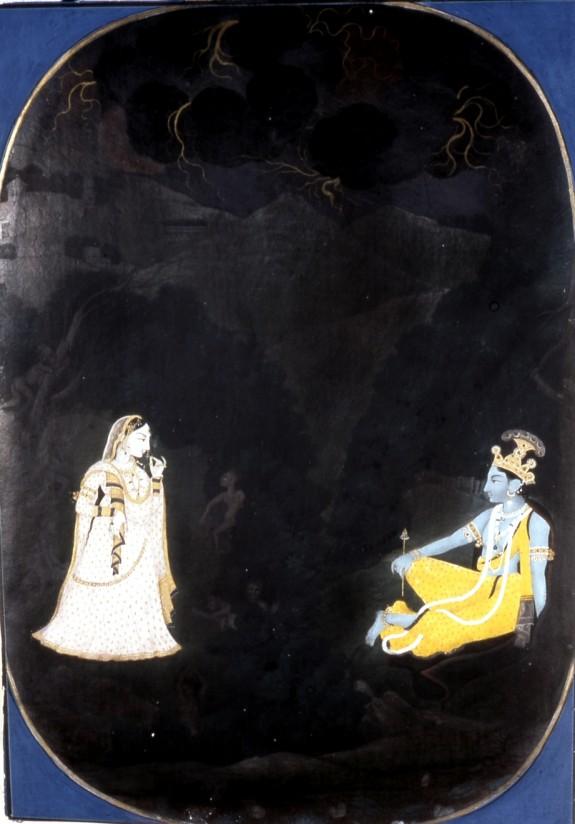 Radha's Tryst with Krishna