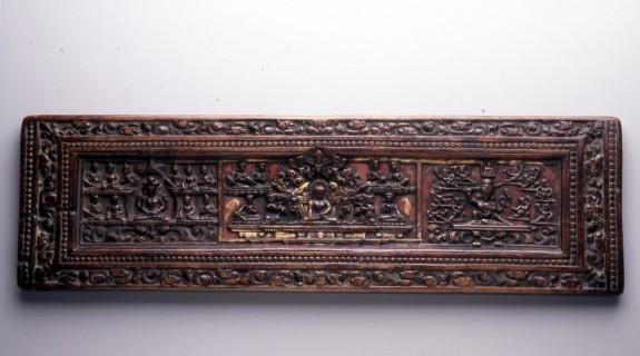 Cover of a Buddhist Manuscript