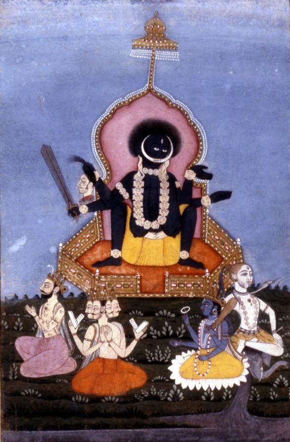 Kali as the Supreme Deity