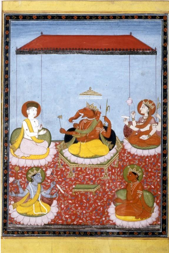 Ganesha Holds Court