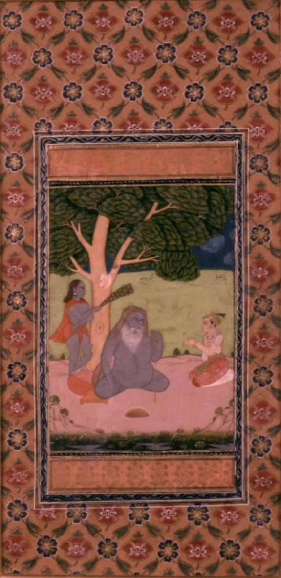 Single Leaf of Shah Sarmad and Prince Dara Shikoh