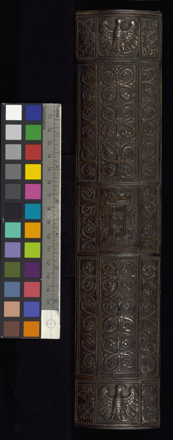 Silver binding, replica of Gospels of San Marco, Venice