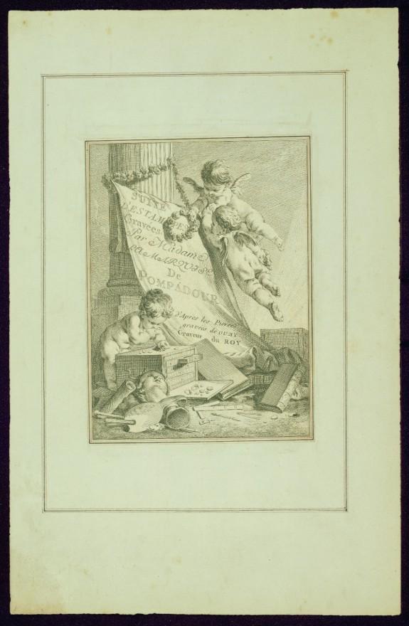 Frontispiece, from Madame de Pompadour's