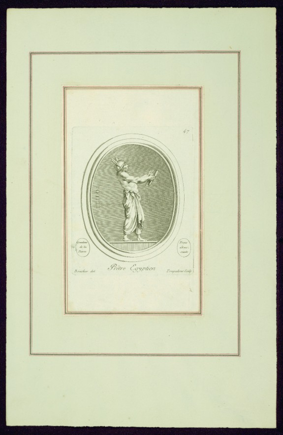 Egyptian Priest, from Madame de Pompadour's