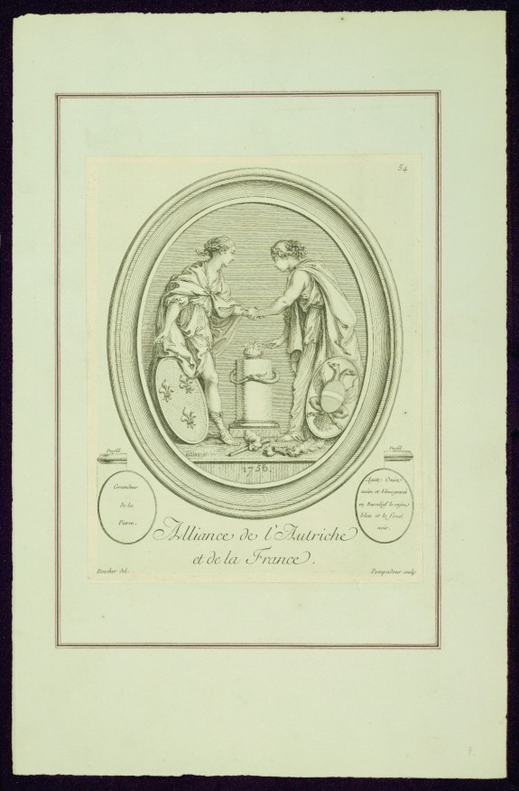Alliance of Austria and France, from Madame de Pompadour's