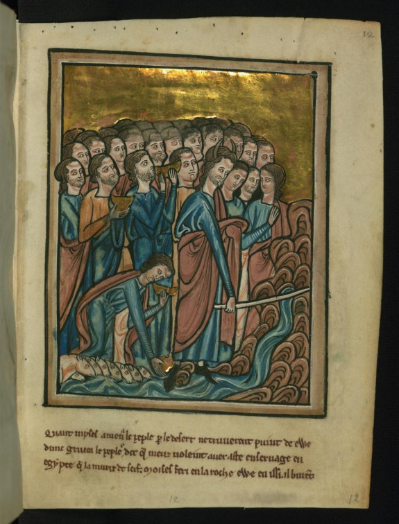 Leaf from Bible Pictures by William de Brailes