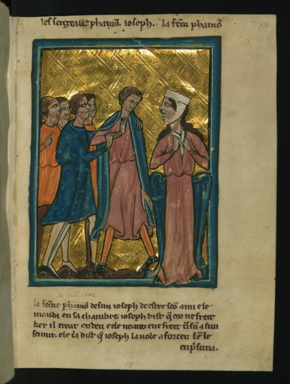 Pharaoh's Wife Accuses Joseph (Genesis 39:7-20)