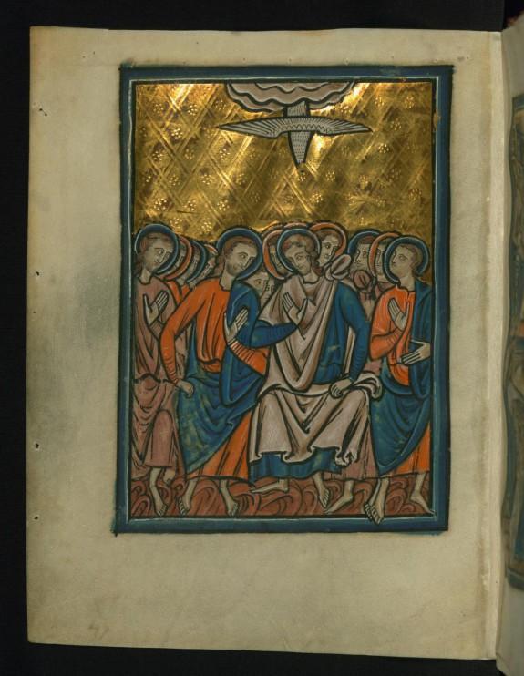 Pentecost (Acts 2:1-4)