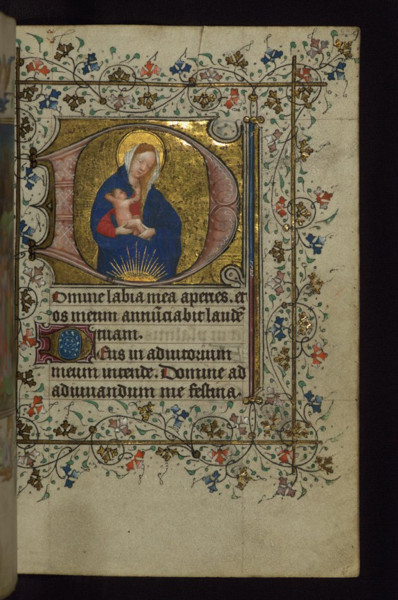 Madonna and Child in half-length,