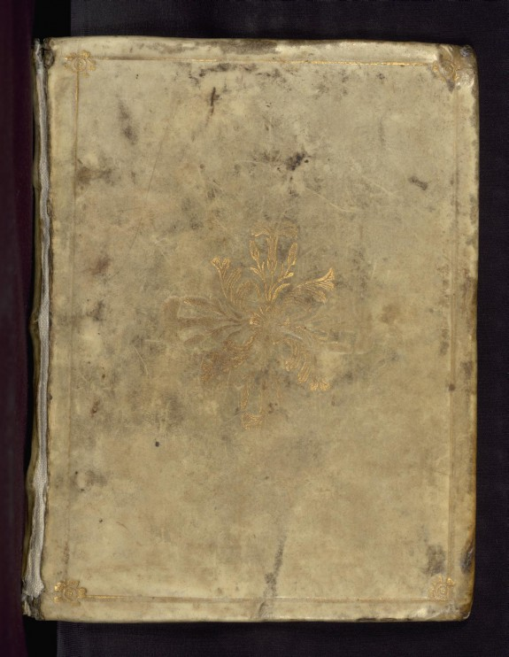 Binding from Book of Hours