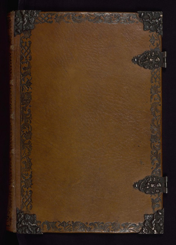 Binding from Book of Hours in Dutch