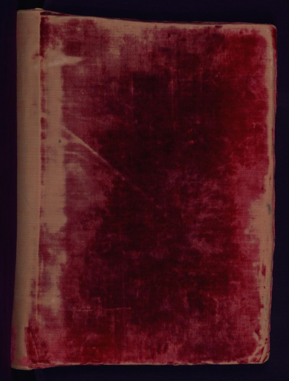 Binding from Gospel Lectionary