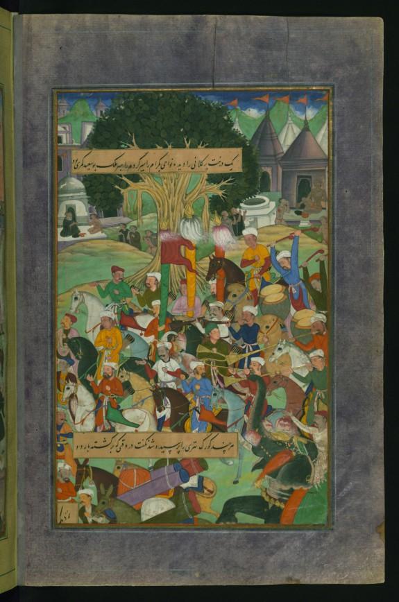 Babur, on the Way to Hindustan, Camping at Jam