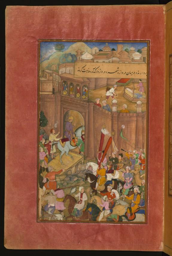 Babur Entering Kabul