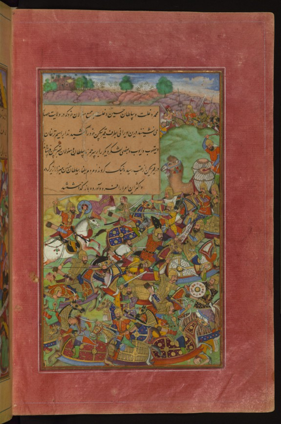 The Battle of Sultan Husayn Mirza Against Sultan Mas'ud Mirza