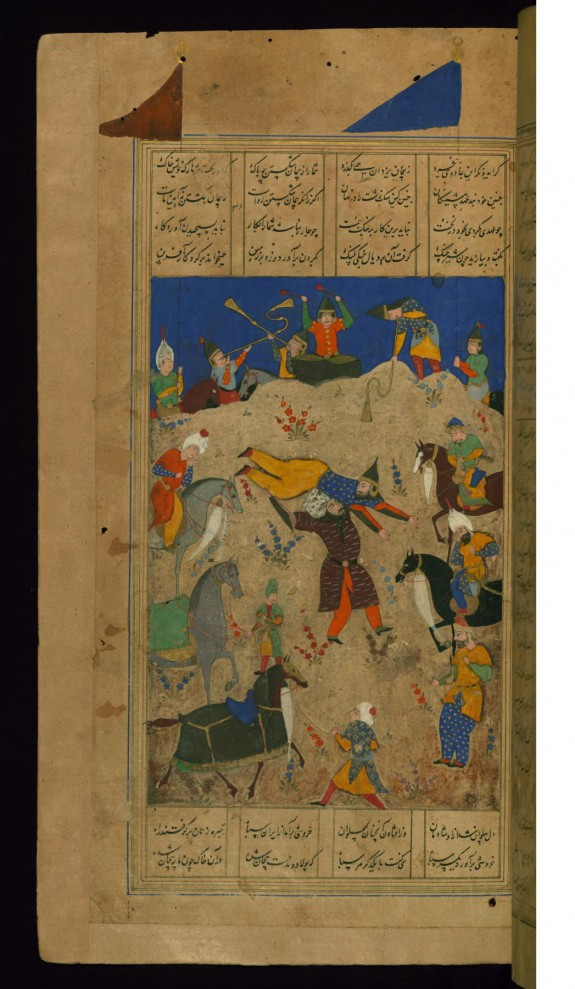 The Combat of Rustam and Puladvand