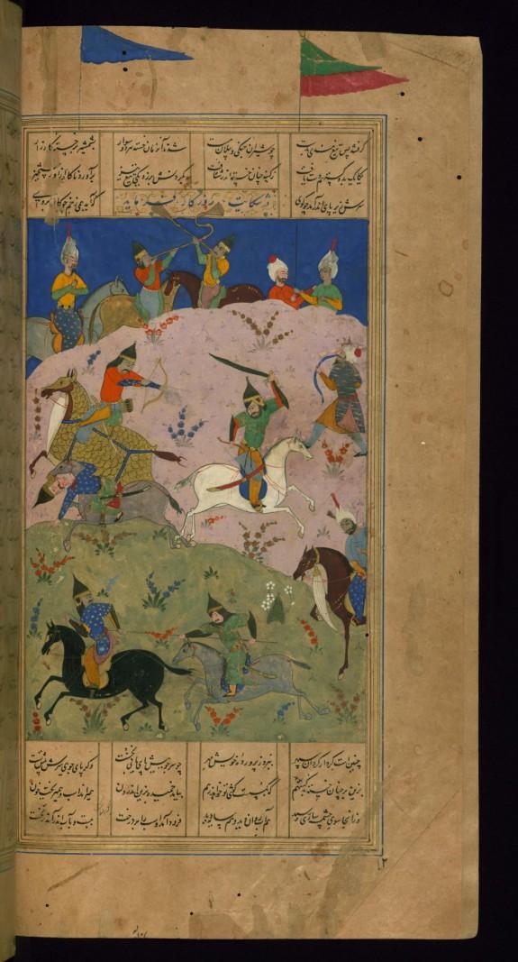 Gustaham Fights Lahhak and Farshidvard