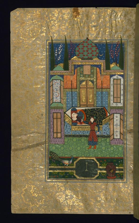 Shiruyah Stabs Khusraw, his Father