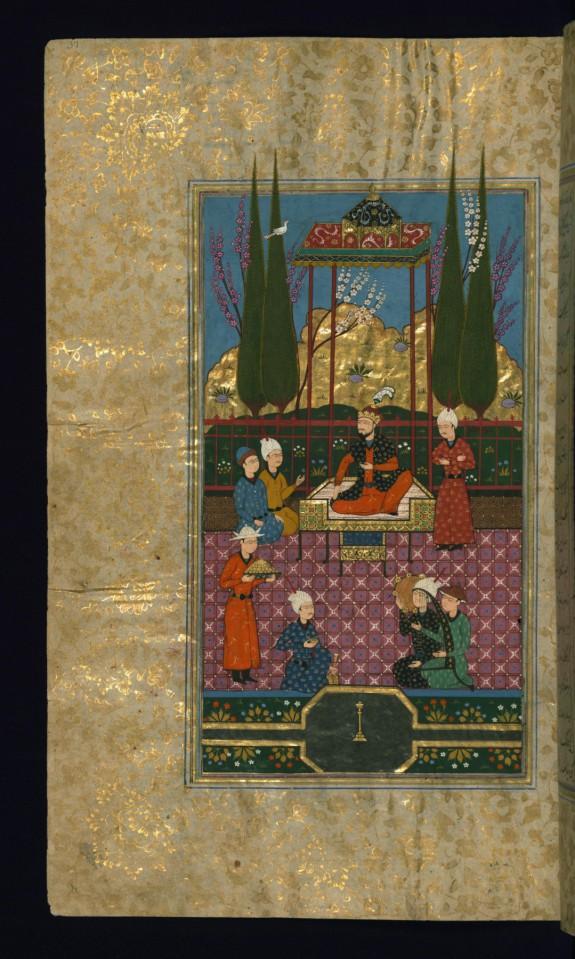 Abu Ja'far Muhammad Atabak Enthroned