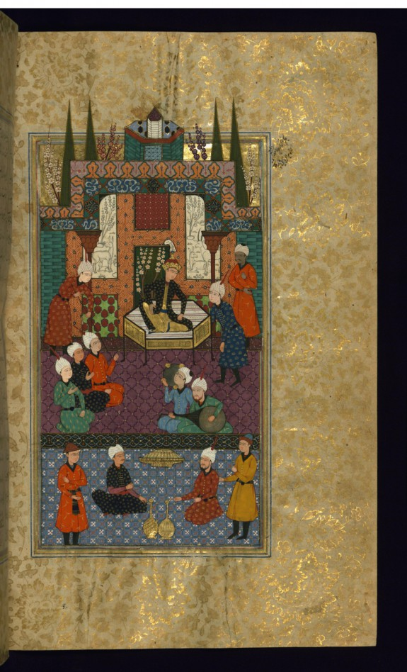 Ascension of Khusraw to the Throne