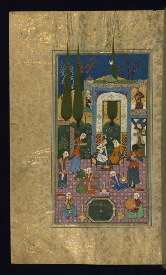 Khusraw and Shirin in the Palace