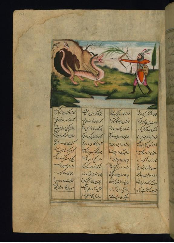 Bahram Gur Kills a Dragon