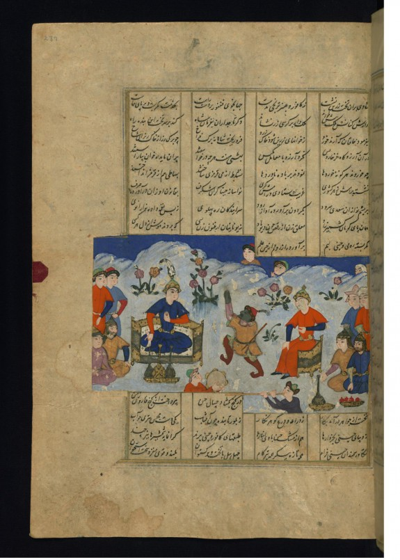 Alexander the Great Entertained at the Court of the King of China