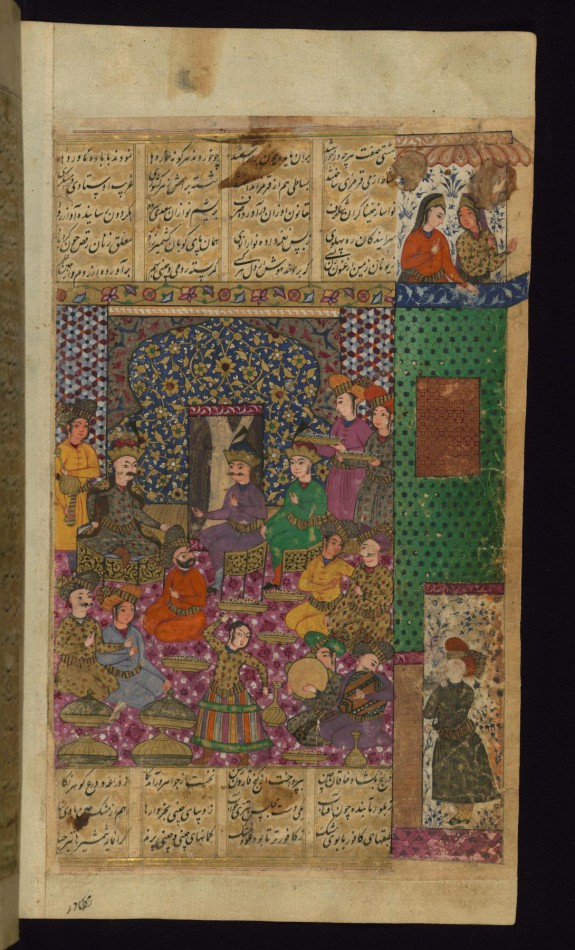 Alexander the Great Received by the Khaqan of China