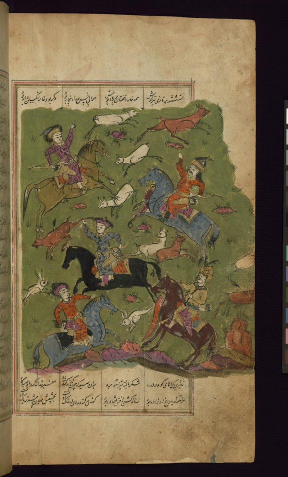 Alexander the Great Hunts on his Way to China