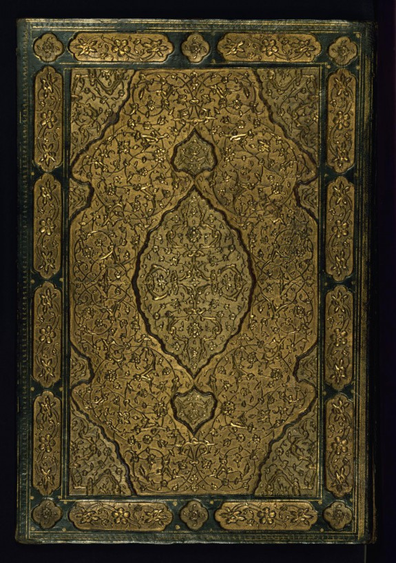 Binding from Two Works of Sa`di: The Rose Garden (Gulistan) and The Orchard (Bustan)