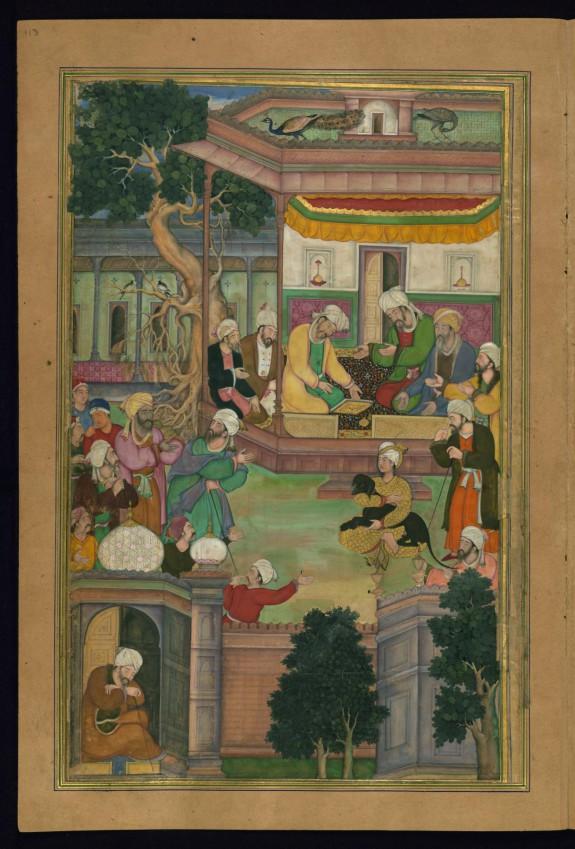 Majnun Befriends a Dog
