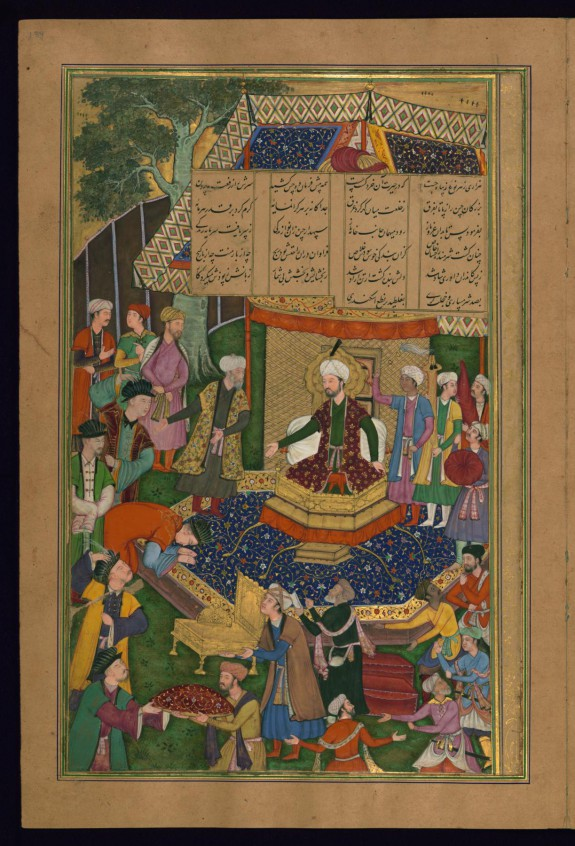 The Khaqan of China Pays Homage to Alexander the Great