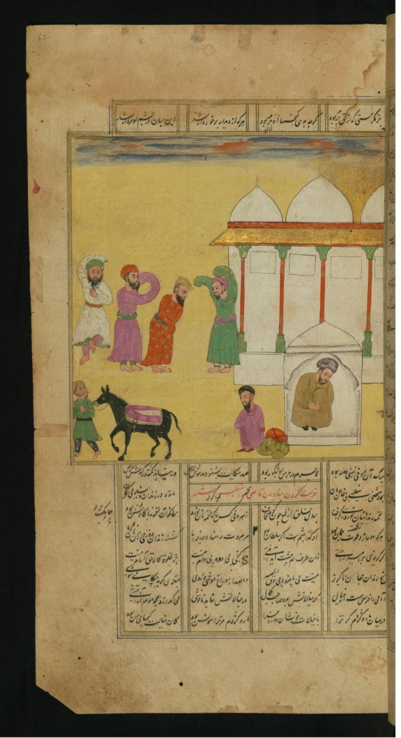 A Group of Sufis, Having Stolen a Donkey from Another Sufi, Celebrate in Dance and Song