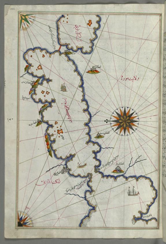 Map of Saronikos Bay
