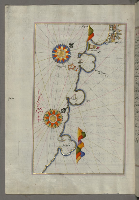 Map of the Coast from Medulin as Far as Pula