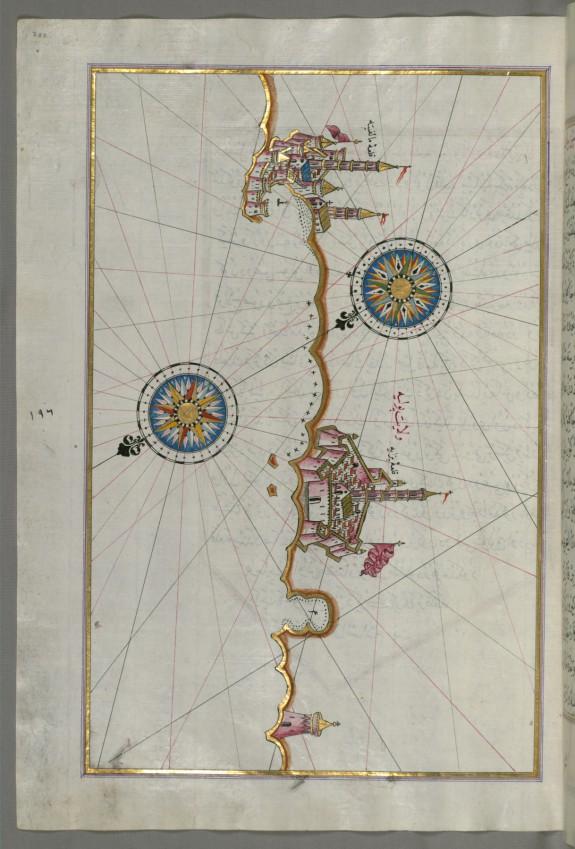 Map of the Italian Coast From Trani as Far as Molfetta