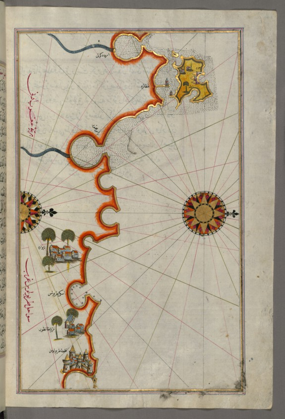 Map of the Coast of Tripoli